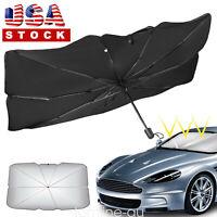 Foldable Car Windshield Sunshade Umbrella Front Window Visor Sun Shade Cover US