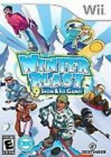Winter Blast: Snow and Ice Games GAME NINTENDO WII