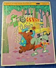 Vtg 1965 Whitman Hooper-Ward Hoppity Hooper Frame Tray Puzzle Cartoon Puzzle