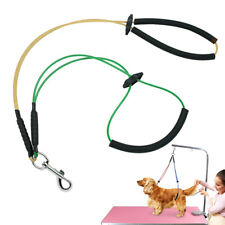 No-Sit Pet Grooming Arm Dog Haunch Holder Harness Restraint Leash Loop for Table
