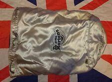 RARE Vintage*Silver Metallic Dr Doc Martens Barrel Round Rucksack Bag*Cyber Skin