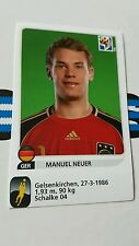 Panini wm 2010 manuel neuer Update * World Cup 10 *