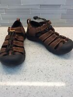 KEEN Newport Size 2 H2 Shoe Water Sport Sandal Brown Youth Big Kids