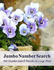 Jumbo Number Search : 300 Number Search Puzzles in Large Print: By Puzzlefast...