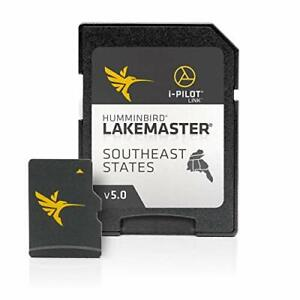 Humminbird LakeMaster Southeast States Edition Digital GPS Lake Maps, Micro S...