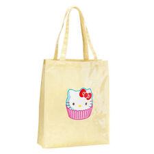 Avon Hello Kitty Cupcake Shopper Tote Bag // Lemon & White Polka Dot (RRP £15)