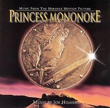 Princess Mononoke by Joe Hisaishi (CD, Oct-1999, Milan) NEW