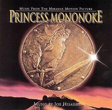 Princess Mononoke by Joe Hisaishi (CD, Oct-1999, Milan) NEW
