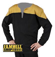 STAR TREK TNG  Uniform XXL super deluxe Baumwolle NEU blau