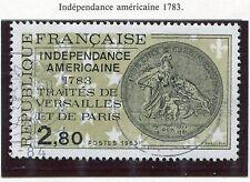 TIMBRE FRANCE OBLITERE N° 2285 TRAITES DE VERSAILLES / Photo non contractuelle