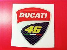 1 Adesivo Resinato Sticker 3D Ducati 46