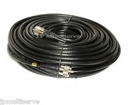 50 ft UHF RG8X Coax PL259 Patch Cable