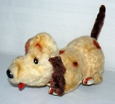 VINTAGE JAPANESE BATTERY OPERATED DOG PUPPY BUMP N GO