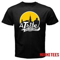 A Tribe Called Quest Rap Hip Hop Logo Men's Black T-Shirt S to 3XL