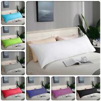 1000TC Ultra Soft Body Pillowcase 48cm x 150cm - Long Pillow case