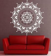 Large Mandala wall decal Eye Indian Buddha Yoga Fatima Mandala Ganesh Lotus