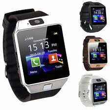 Best Black DZ09 Bluetooth Smart Wrist Watch Phone Mate For Android & IOS iPhone