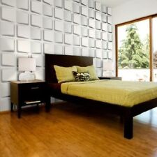 3D Wall Panel Gradient 12 Tiles 32sqft Paintable Home Decoration EcoFriendly