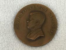 "1961 John Fitzgerald Kennedy Bronze 2 3/4"" Inauguration Coin Medallic Art Co."