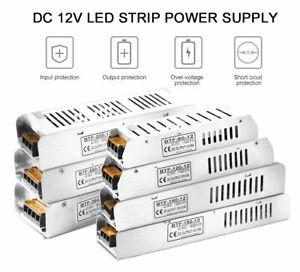 DC12V 5A/10A/12.5A/15A/20A/30A LED Switch Power Supply Transformers AC 110/220V