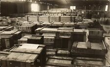 Manchester Docks photo by R.Banks. Brooks & Doxey ? Cotton Shipments. Crates.