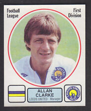 Panini - Football 82 - # 116 Allan Clarke - Leeds