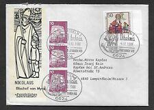 Umschlag-BRD-von Grossrosseln nach Lampertheim-6.12.1988-