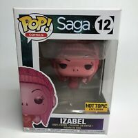 Funko Pop! SkyBound Comics Saga #12 Hot Topic Exclusive Izabel Vinyl Figure 2018