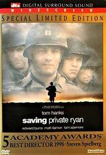 Saving Private Ryan (Dvd, 1999, Dts Surround) Tom Hanks, Edward Burns.