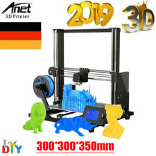 Anet A8 Plus DIY 3D Drucker Printer 300x300x350mm Groß LCD mit 10m PLA-Filament