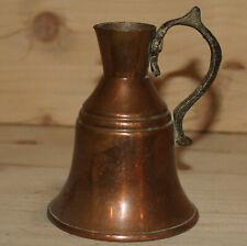 Vintage hand made copper pitcher
