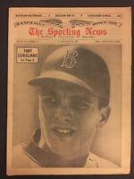 1965 Sporting News BOSTON RED SOX Tony CONIGLIARO No Label YOUNG SLUGGER Bosox
