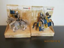 """SET OF TWO (2)    SCHLEICH    """"World of Knights"""""""