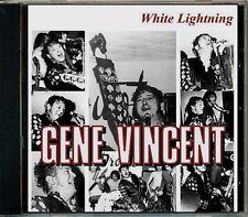 Gene Vincent - White Lightning  HTF Original UK Greatest Hits CD (Brand New!)