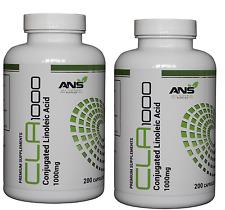 All Natural Supplies CLA 1000mg Conjugated Linoleic Acid 400 Capsules