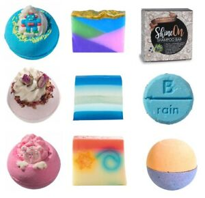 Large Bath Bombs, Soaps ...  Buy any 4 + and get 10 Mini Bath Bombs FREE