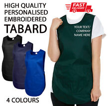 More details for custom personalised tabard work wear embroidered company text cleaning apron