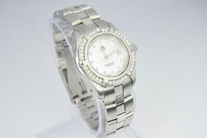 Tag Heuer Aquaracer Diamond Professional Ladies Watch WN131J-0 .  FULL SET.