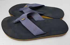TEVA Men's Shoes Sandals Thong Flip Flop Blue Indigo 8 US 7 UK 40.5 EUR 1008666