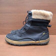 Merrell Tremblant Winter Snow Waterproof Black Leather Boots sz 41 US 10 UK 7.5