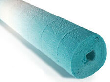 Crepe paper roll 180g (50 x 250cm) Gradient Blue (shade 600/2)
