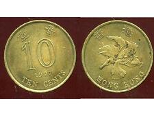 HONG KONG  10 ten cents 1997  ' bis )
