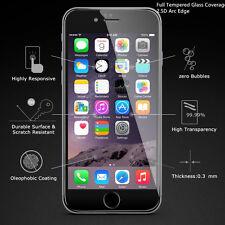 Iphone 6 Plus cobertura de vidrio templado Completo Protector De Pantalla 2.5D 9H hardnes Negro