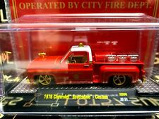 CHASE! M2 1976 Chevrolet Scottsdale Squarebody Fire Chief Limited Edition 1:64