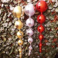 Giant Red Gold Silver Drop Bauble Ball Christmas Tree Display Decoration 80cm
