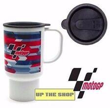 Official MotoGP workshop garage mug + Lid Honda Kawasaki Suzuki Triumph Yamaha