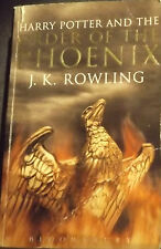 BOOK 5 1st ED ADULT ED HARRY POTTER & THE ORDER OF THE PHOENIX PAPERBACK