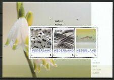 Nederland NVPH 3012 Vel Victor Bos Natuurkunst 1 2016 Gestempeld