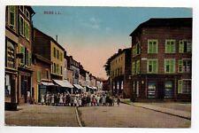 DIEUZE DUSS Moselle CPA 57 carte couleur rue avec enfants