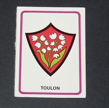 N°105 B ECUSSON BADGE RC TOULON RCT PANINI RUGBY 76 7975-1976